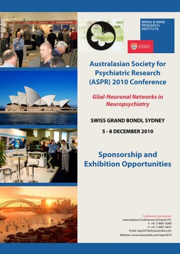 Sponsorship and Exhibition Opportunities - International ...