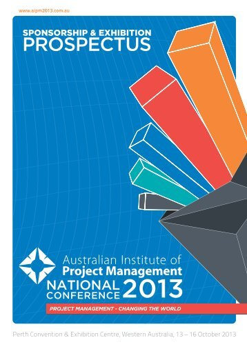 Download the AIPM 2013 Sponsorship & Exhibition Prospectus