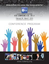 CONFERENCE PROGRAM - Illinois Computing Educators
