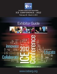 PDF Exhibitor Guide - Illinois Computing Educators