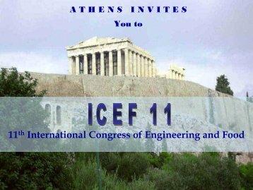 Presentation of Congress Destination - 11th International Congress ...