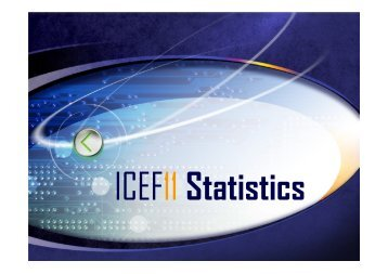 ICEF11 Statistical Data - 11th International Congress on ...