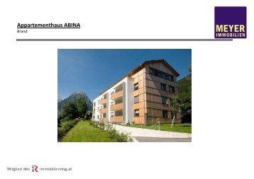 Appartementhaus ABINA