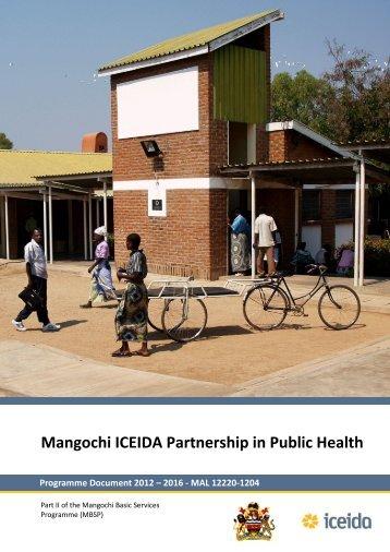 Mangochi-ICEIDA-Partnership-in-Public-Health-2012-2016-Part-II ...