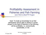 Fisheries And Fish Farming