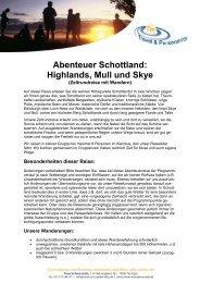 Abenteuer Schottland: Highlands, Mull und Skye - Iceland.de