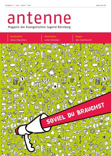 SOVIEL DU BRAUCHST - Evangelische Jugend Nürnberg