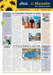 Ausgabe 22 Dezember 2013 - allod media C2 GmbH