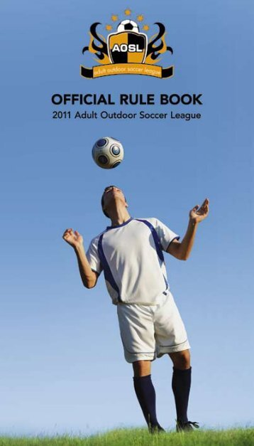 Click Here to View the AOSL Rule Book - Canlan Ice Sports