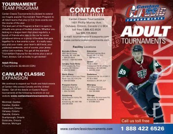 CONTACT - Canlan Ice Sports