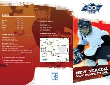 to view the 2012 3on3 Brochure - Canlan Ice Sports