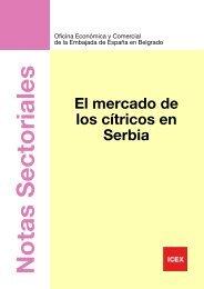 El mercado de los cítricos en Serbia - Icex