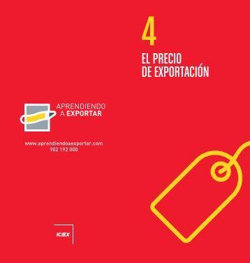 EL PRECIO DE EXPORTACIÓN - Icex