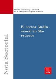 El sector audiovisual en Marruecos - Icex