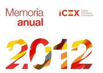 Memoria 2012 completa - Icex