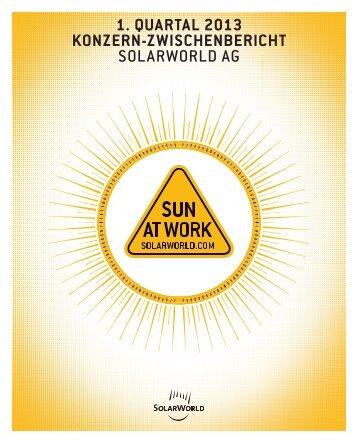 Download PDF - SolarWorld AG
