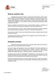 Situación, superficie, clima Demografía y sociedad - Icex