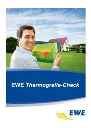 Musterbericht EWE Thermografie-Check