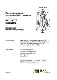 Anlage 7: Umweltbericht (application/pdf 154.4 KB) - Jena