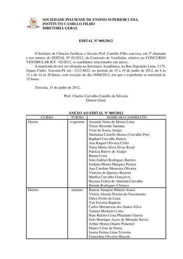 SOCIEDADE PIAUIENSE DE ENSINO SUPERIOR LTDA ... - ICF