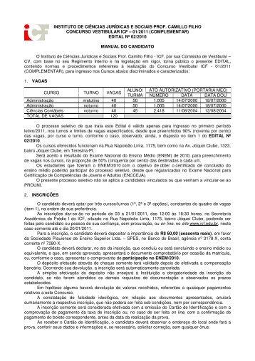 01/2011 (complementar) - ICF