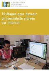 Citizen Journalism - French - International Center for Journalists