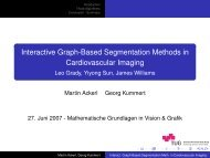 Interactive Graph-Based Segmentation Methods in Cardiovascular ...