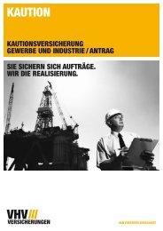 Antrag - Gewerbe/industrie