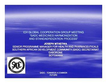 SADC - ICH