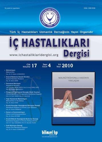 türk - İç Hastalıkları Dergisi