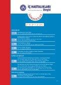 Untitled - İç Hastalıkları Dergisi - Page 6