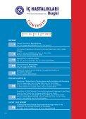 Untitled - İç Hastalıkları Dergisi - Page 7