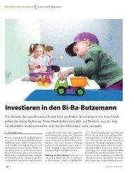 Investieren in den Bi-Ba-Butzemann - Habona Invest