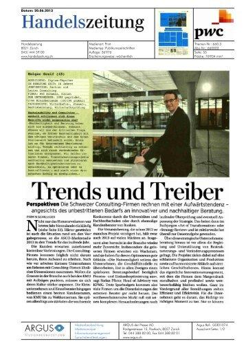 Trends und Treiber - PwC
