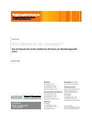 """Eine Stimme für die """"Sonstigen""""! - Regierungsforschung.de"""