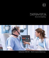 bellavista 1000 NIV – Nicht-invasive Beatmung - Imtmedical
