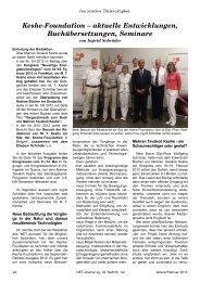 Keshe-Foundation – aktuelle Entwicklungen, Buchübersetzungen ...