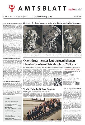 amtsblatt16 021013.pdf - Stadt Halle (Saale)