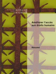 Améliorer l'accès aux droits humains - The ICHRP