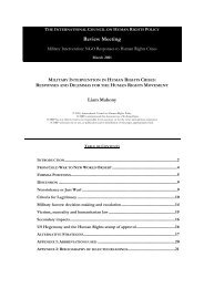 115 - Military Intervention in Human Rights Crises ... - The ICHRP