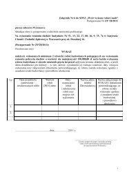 Załącznik Nr 6 do SIWZ - Wzór wykazu robót budowlanych i osób