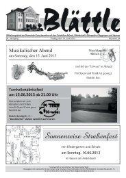 KW 24 am 14.Juni 2013 - Göggingen