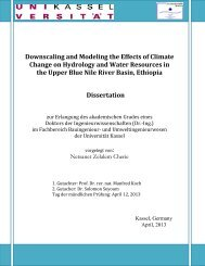 Downscaling and modeling the effects of climate change ... - KOBRA