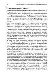 Untersuchungen zum Ablagerungsverhalten in der ...
