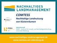 Forschungsprojekt COMTESS - Nachhaltige Landnutzung von ...