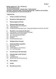 Bebauungsplan Nr - Stadtplanung Gelsenkirchen