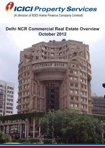 Delhi NCR Commercial Real Estate Overview October 2012