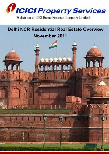 Delhi NCR report - ICICI Home Finance
