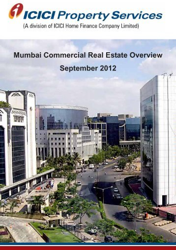 Mumbai Commercial Real Estate Overview September 2012