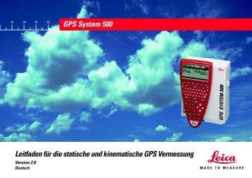 Leitfaden für die statische und kinematische GPS Vermessung GPS ...